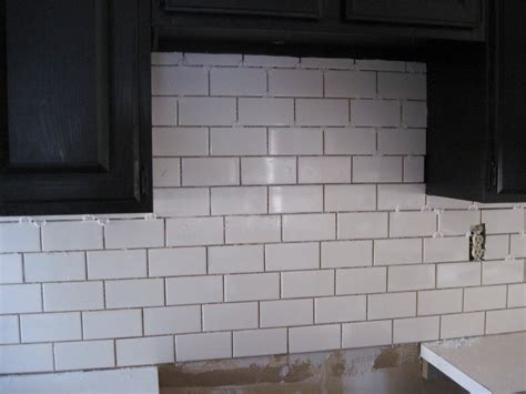 subway style tile kitchen kitchen glass white subway tile backsplash ideas
