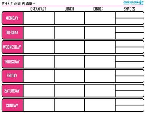 printable meal prep planner menu planning meal prep tips plus free printable di