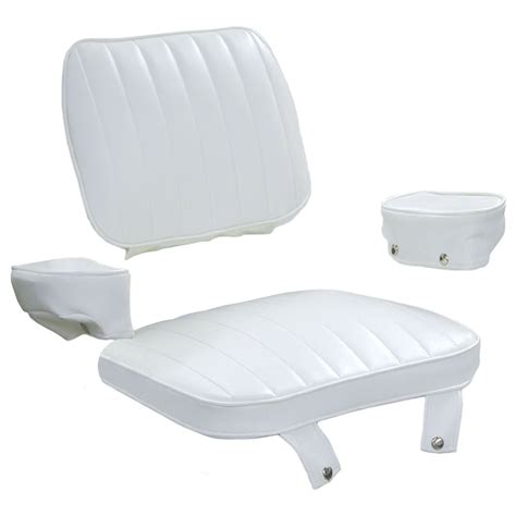 boat upholstery supplies 8wd1007 2 cushion set only 4 pc for captains chair w