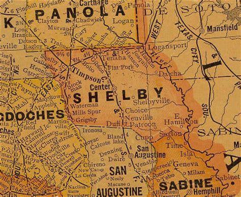 shelby county texas map bobo texas
