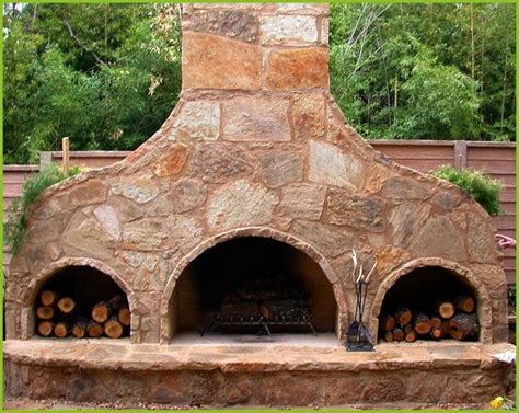 How To Build Pizza Oven Fireplace by Outdoor Pizza Oven Fireplace Backyard