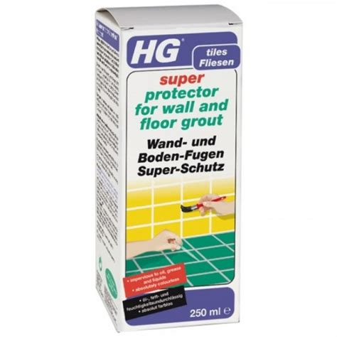 Bathroom Floor Protector Hg 244 Protector For Wall And Floor Grout 250ml
