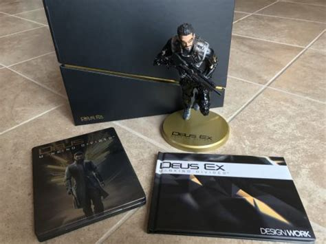 Deus Ex Mankind Divided Collector Edition Statue deus ex mankind divided collector s edition augment your collection fanbolt