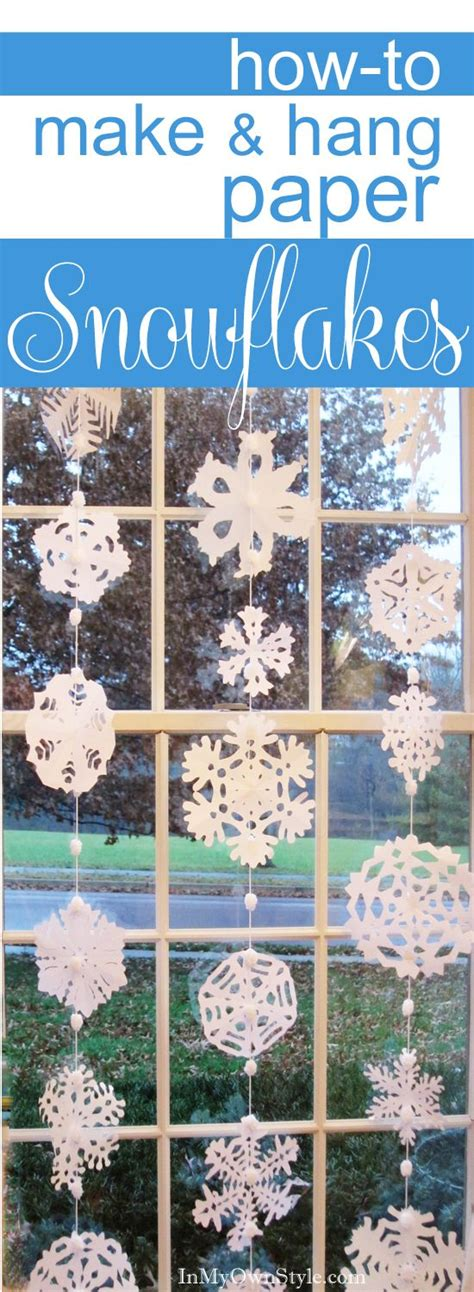 How To Make Awesome Paper Snowflakes - paper snowflakes picmia