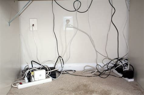 messy wires how to