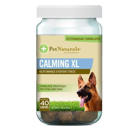calming for dogs pet naturals calming xl for large dogs 40 chews