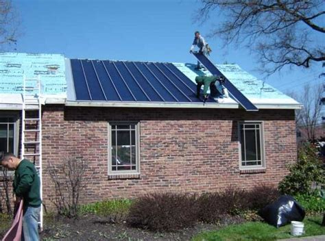metal roofs installed on homes and commercial buildings integrated solar nifty homestead