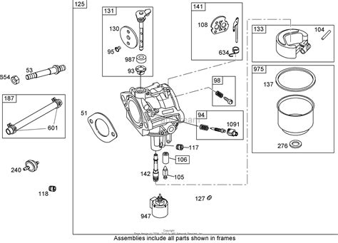 briggs and stratton carburetor diagram toro 74432 timecutter zd380 mower 2006 sn
