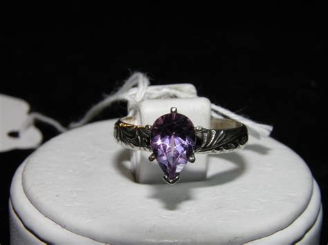 Sale Pedro Original Sz 44 45 sale 1 90ct solitaire amethyst purple sterling silver ring
