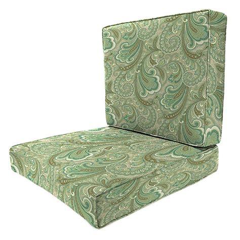 Martha Stewart Patio Furniture Replacement Cushions Martha Stewart Living Cedar Island Chili Replacement Outdoor Swivel Lounge Chair Cushion Cisc7cu