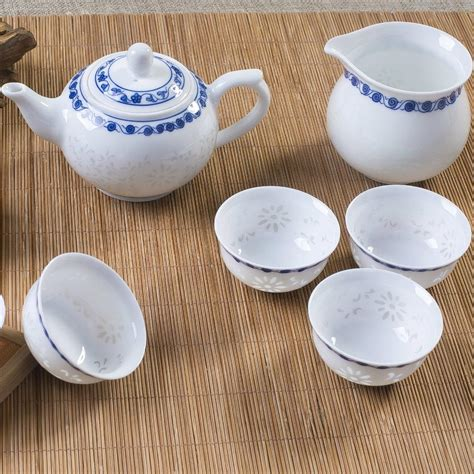 Handcrafted Tea - handcrafted tea cups ceramic set porcelain gift kung fu