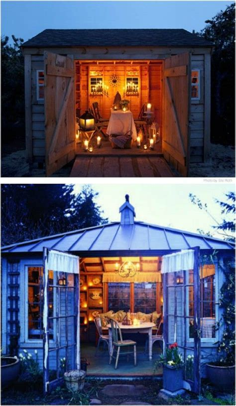top  gorgeously comfortable  sheds  backyard