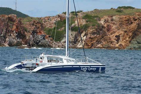 trimaran in heavy weather trimaran vs catamaran are they so different cruising sea
