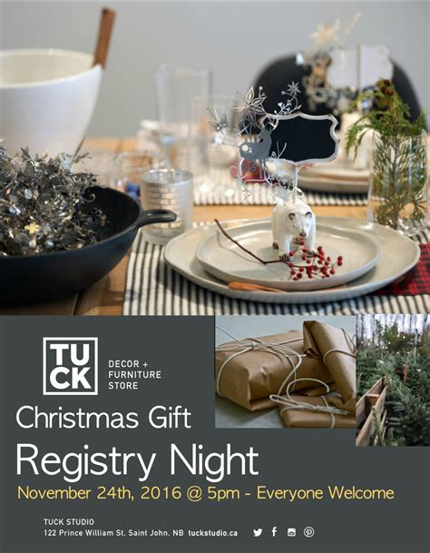 christmas registry night save the date november 24th