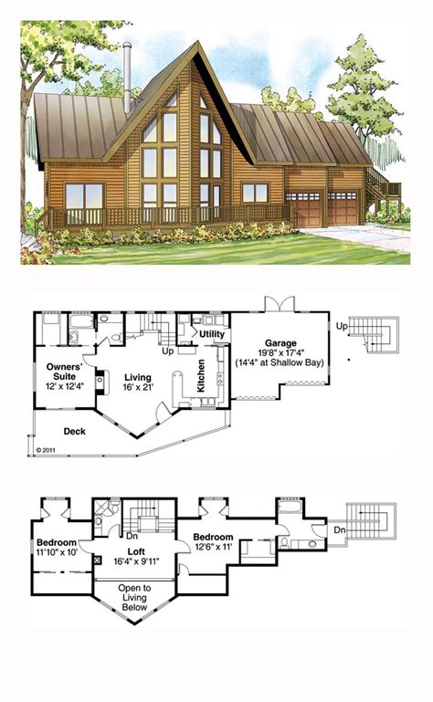3 Bedroom A Frame House Plans by 1000 Images About A Frame House Plans On