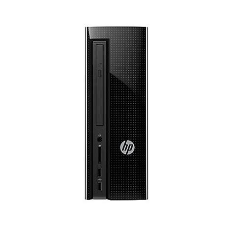 Hp Slimline Desktop 260 P026l hp slimline 260 p026 desktop pc intel i3 8gb memory