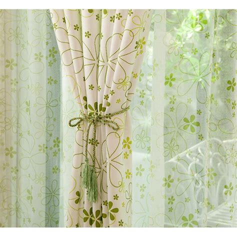 floral country curtains neat light green country floral window curtains