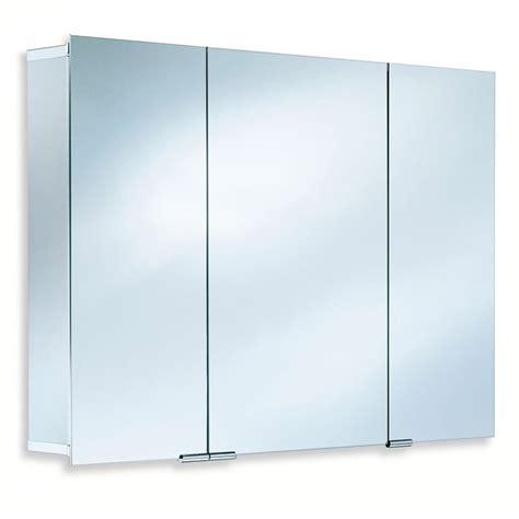 Spiegelschrank Ohne Beleuchtung by Hsk Asp 300 Alu Spiegelschrank Mit 3 Dreht 252 Ren