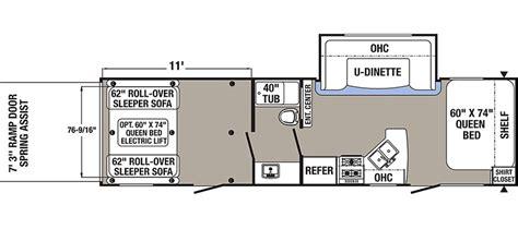 puma toy hauler floor plans puma xle toy hauler travel trailer rv wholesalers