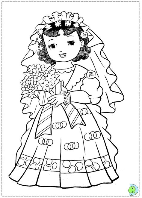 coloring pages of japanese dolls japanese doll coloring pages