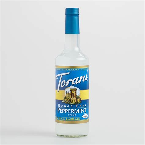 torani sugar free peppermint syrup world market