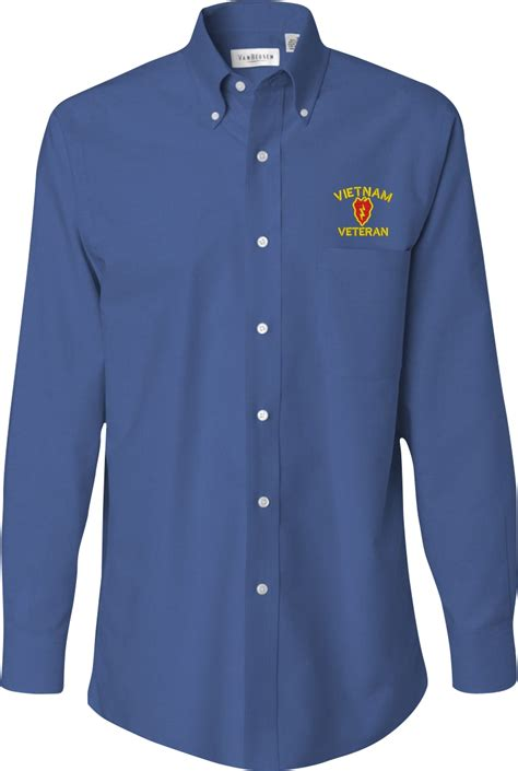 custom embroidery shirts custom embroidered u s army oxford shirt