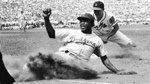 when did jackie robinson the color barrier breaking the color barrier jackie robinson home