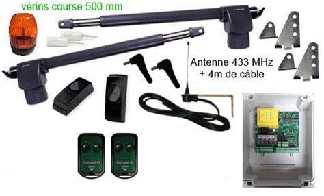 Porte Garage Avec Portillon 4047 motorisation de portail adyx kit automatisme 224 v 233 rin