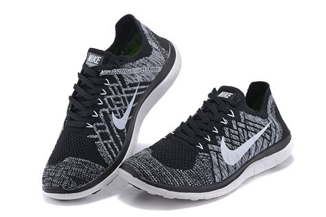 womens nike shoes clearance nike free 4 0 flyknit s shoes black white outlet