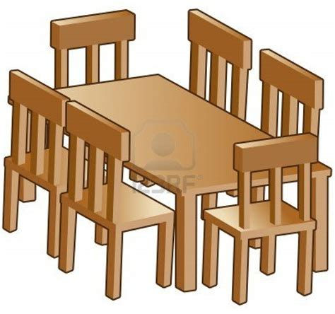 Free Dining Chairs Dining Room Furniture Clipart