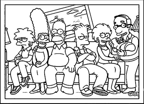 the simpsons coloring pages the simpsons coloring page wecoloringpage 114 simpsons