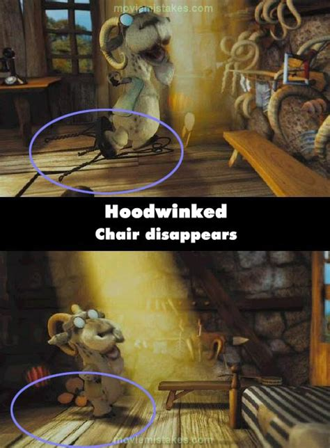 hoodwinked   mistakes goofs  bloopers