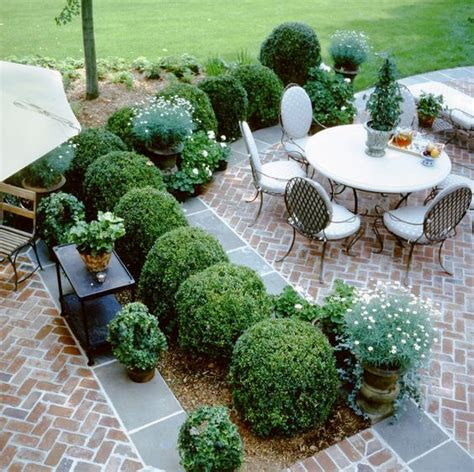 Patio Greenery Ideas 18 Brick Patio Ideas With Pros And Cons Shelterness