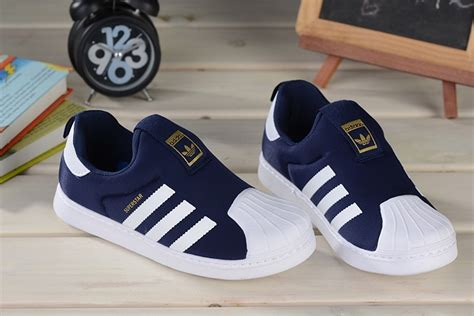 Sepatu Adidas Supercolor Slip On 4 the best seller cheap sale adidas superstar baby trainers new collection slip on obsidian