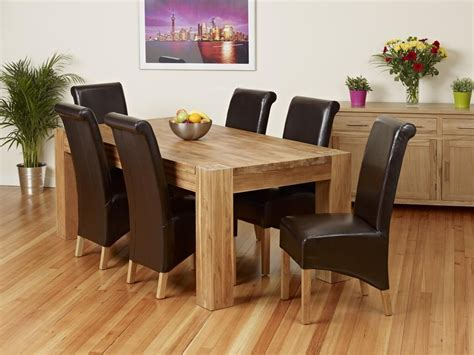 20 ideas of solid oak dining tables dining room ideas