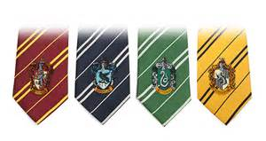 hogwarts house colors harry potter house ties thinkgeek