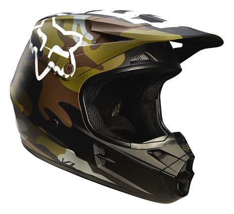 Motorradhelm Fox by Fox Helm V1 Camo Gr 252 N Camo 2016 Motorr 228 Der