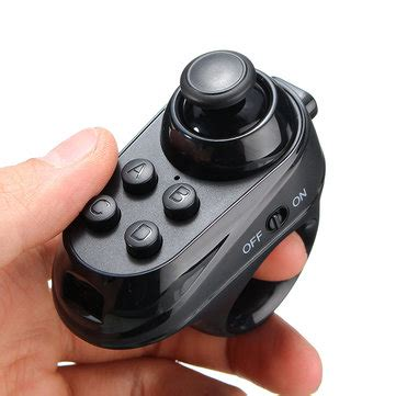 Mini Mobile Joystick It Analog For Android Ios r1 portable mini wireless bluetooth 4 0 remote controller joystick for ios android gamepad