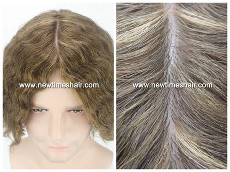 latest hair replacement 2015 injected silicon base women hair replacement