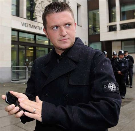 former edl leader tommy robinson reckons hes most wanted
