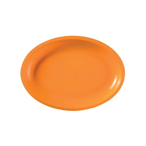 Plate Oval By Abie Kitchenware promo catering disposable plastic oval plate
