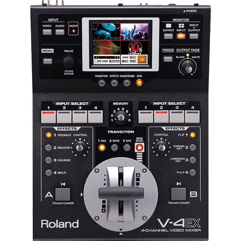 Mixer Edirol V8 roland v 4ex four channel digital mixer with effects