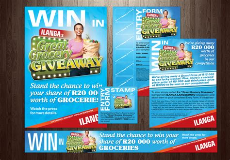 Great Grocery Giveaway - ilanga great grocery giveaway headlines advertising solutions