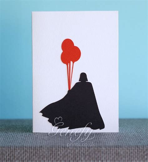 darth vader birthday card template 25 best ideas about wars silhouette on