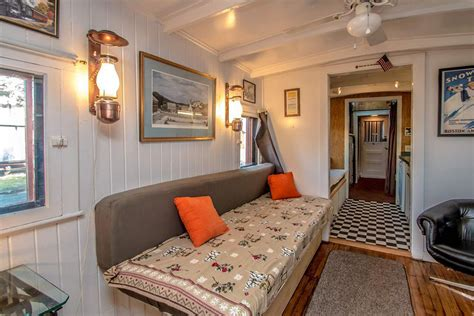 renovated cers for sale there s a renovated train car for sale in conway nh