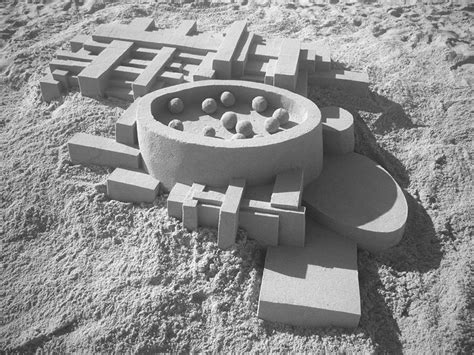 calvin seibert geometric sand sculptures the awesomer