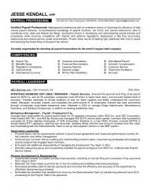 Resume Exle For It Professional by Professional Resume Exles Best Template Collection