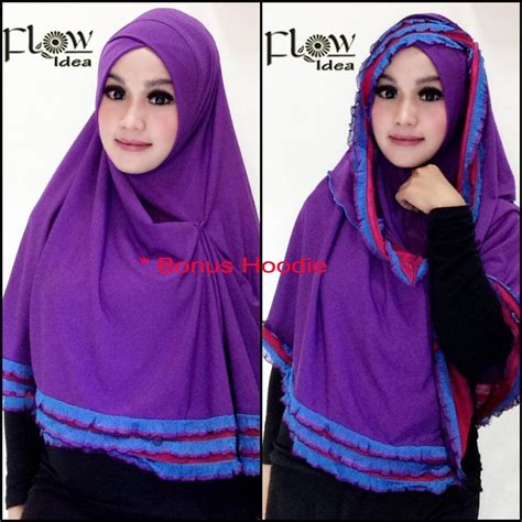 Jilbabhijab Prada Ori By Flow 1 jual syria hawwa murah by flow idea original