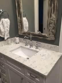Bathroom Vanities Quartz Countertops 3cm Viatera Quartz Rococo Rustic Bathroom Other By