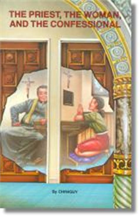 152 The Priest The Woman In The Confessional By Charles